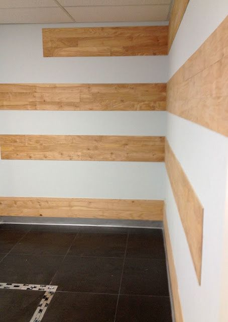 Inexpensive Wood Feature Wall