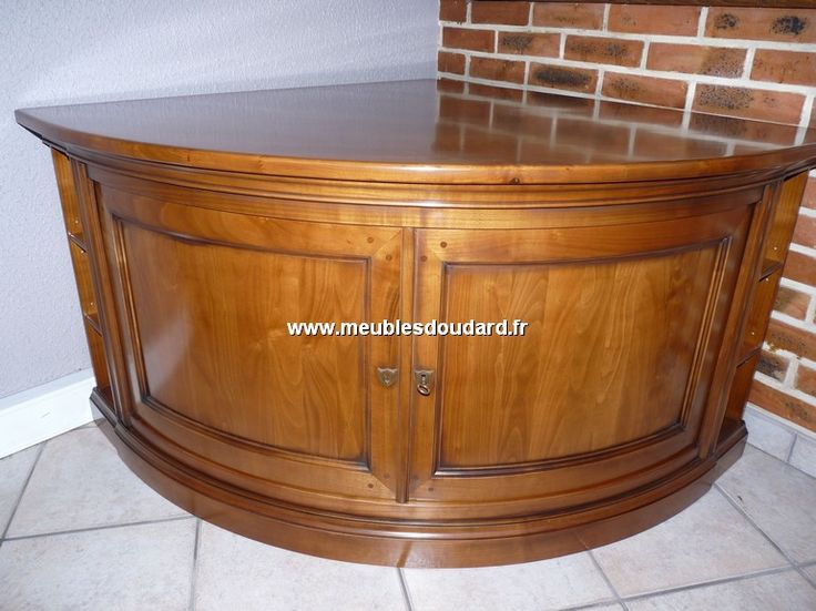 1000 id es propos de encoignure sur pinterest meuble de cuisine de coin - Meuble d angle merisier ...