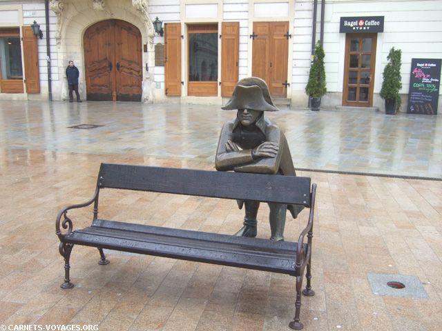 Napoleon soldier, Bratislava