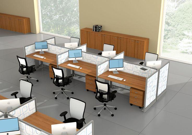 Oficinas modernas abiertas buscar con google coworking for Muebles de oficina haken