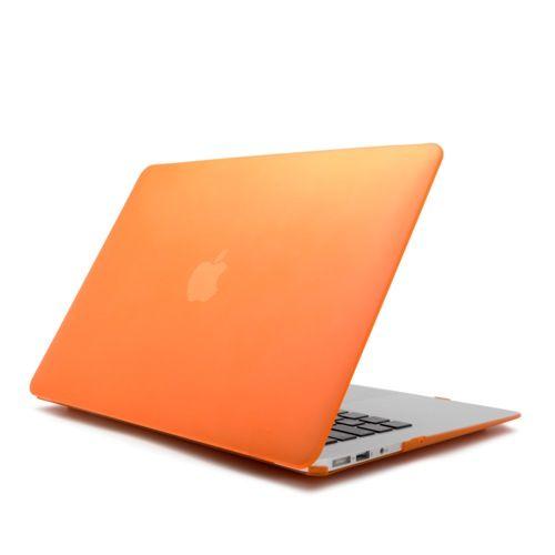 """CARCASA MACBOOK AIR 13 PULGADAS NARANJA 18,18 €  Carcasa para Macbook Air 13 Pulgadas para decorar tu Mac con elegantes colores, bañada con un barniz que le proporciona un agradable tacto suave. Ligera y resistente apenas incrementa el peso de tu Mac. Diseñada para quedar totalmente integrada en tu Mac seguirás teniendo acceso a todos tus puertos sin necesidad de retirarla. Se adapta perfectamente a tu Macbook de 13 Pulgadas. Compatible con MacBook Air de 13""""."""