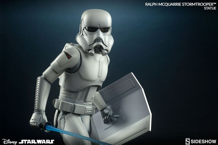 Sideshow Ralph McQuarrie Star Wars Concept Stormtrooper