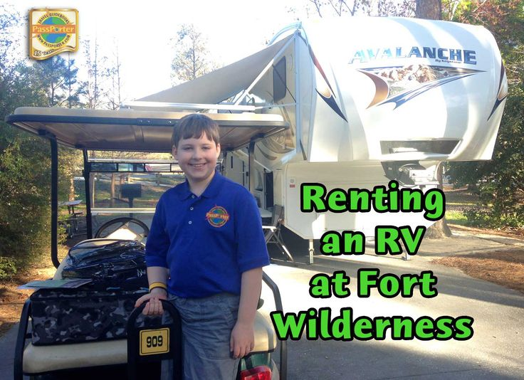 Renting an RV at Disney's Fort Wilderness: Florida Camper Rental is Darn Tootin' Good! | PassPorter Blogs