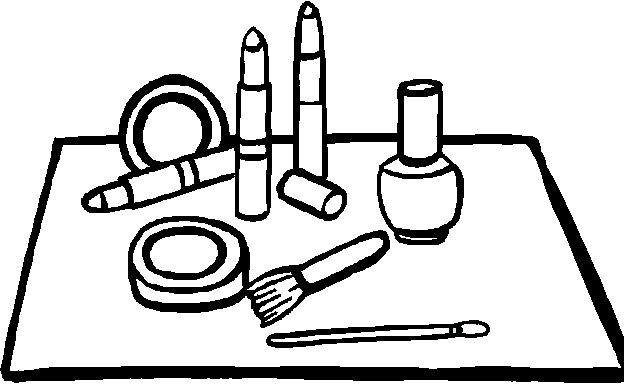 spa party coloring pages - photo#11