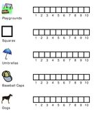 The Trip Clip - Fun and simple counting game for preschool kids on car trips, plane trips, and at a restaurant