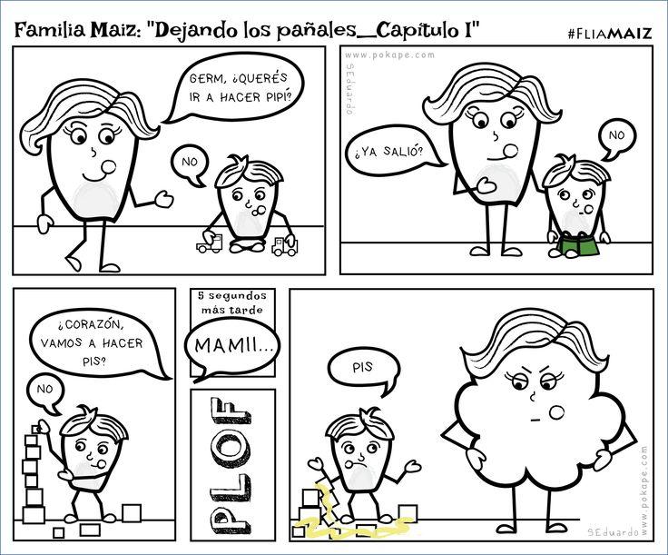 """""""Dejando los pañales-Capítulo I"""" #FliaMaiz"""