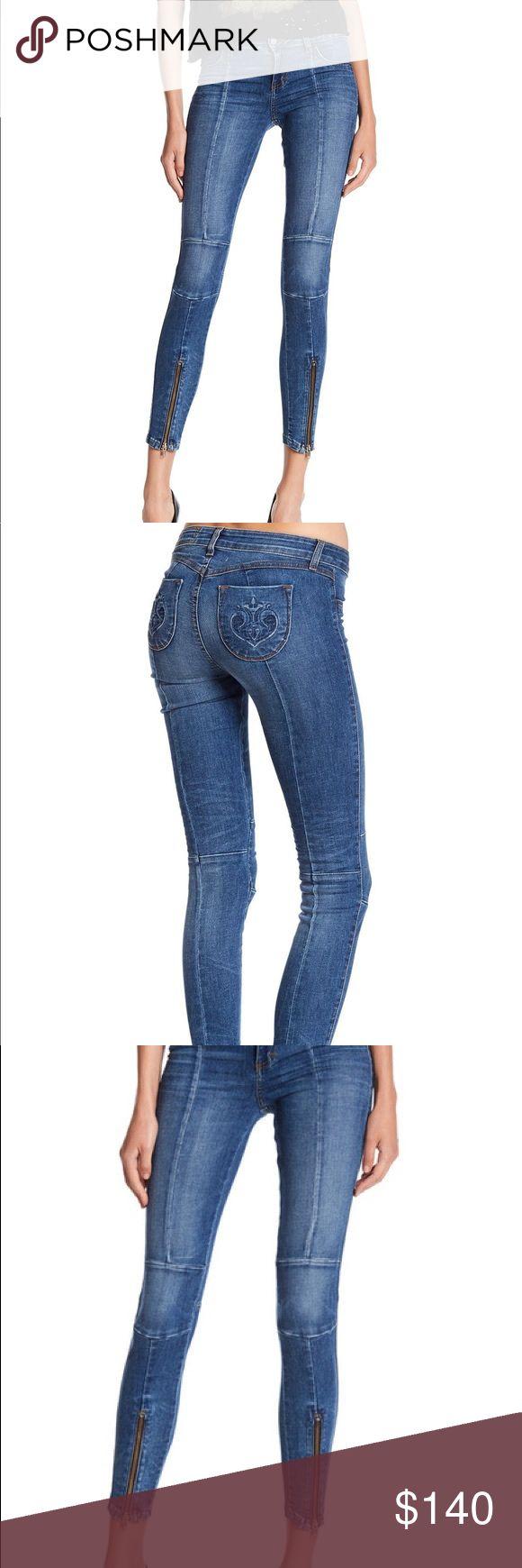 Siwy Zip Up Denim Jeans Worn once, Siwy denim zip up details jeans. Siwy Jeans Skinny