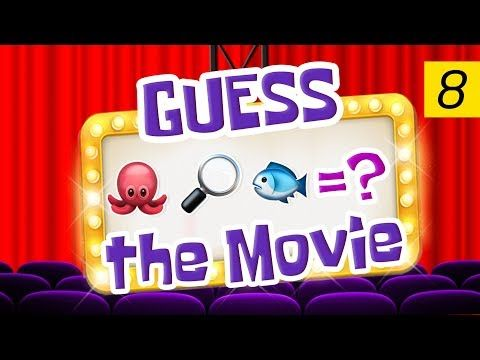 Can You Guess All The Movies? | Emoji Challenge 8 - YouTube