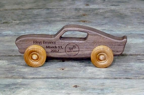 Wooden Toy Car Personalized Toy Car Toy Muscle Car Wooden Toy