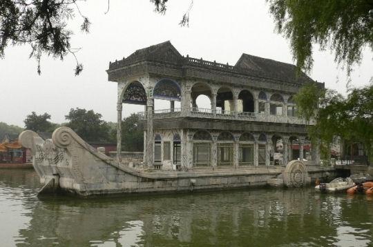 la finesse et l'élégance de l'architecture et des jardins du palais d'été