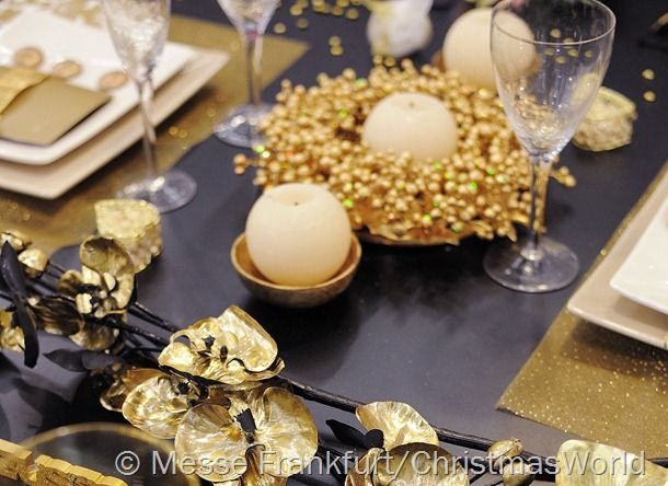 New Years Eve Table Decorations New Years Fest With Shimmering