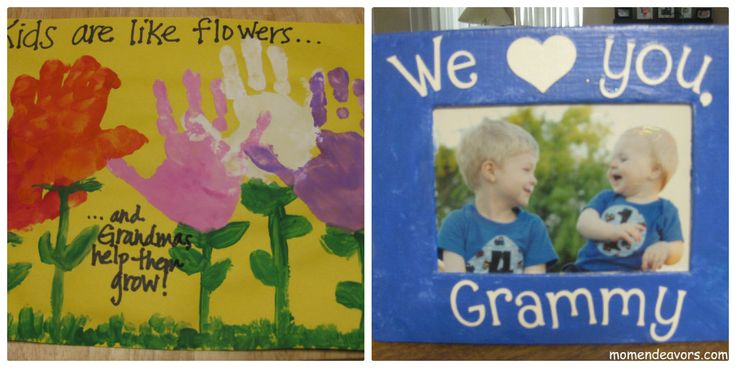 Easy Mother's Day Crafts for Kids to Make {Perfect for Grandmas)