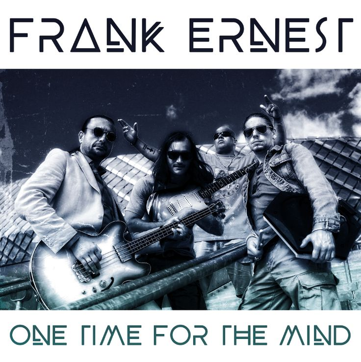 Today Frank Ernest is releasing our debut album 'One Time for the Mind' on Spotify and iTunes! Frank Ernest is lead vocalist Chaka 'Chak la Rock' Seisay, bass guitarist Nebojsa 'Neb Mal…