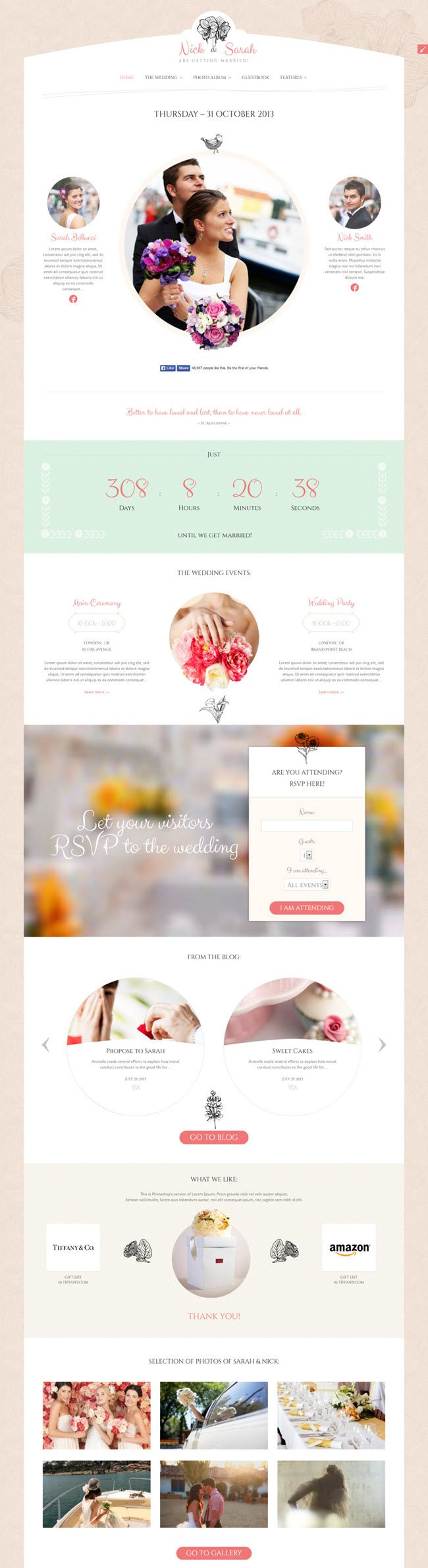 28 best Temas WP: Bodas images on Pinterest | Wedding, Wedding ...