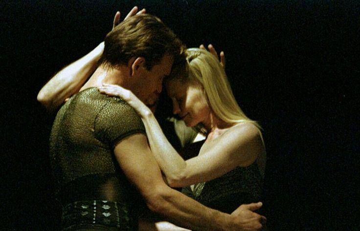 Patrick Swayze and Lisa Niemi in (One Last Dance)
