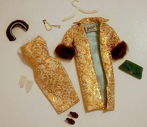 vintage barbie clothes | 1959 VINTAGE CLOTHES BARBIE's® EVENING SPLENDOUR #961 Access JAPAN ...