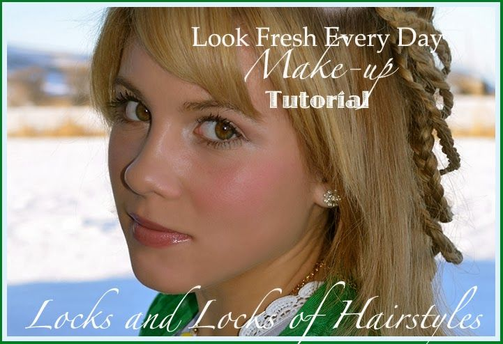 Locks and Locks of Hairstyles: Quick and Easy Video Tutorials: Natural-look Make up Tutorial