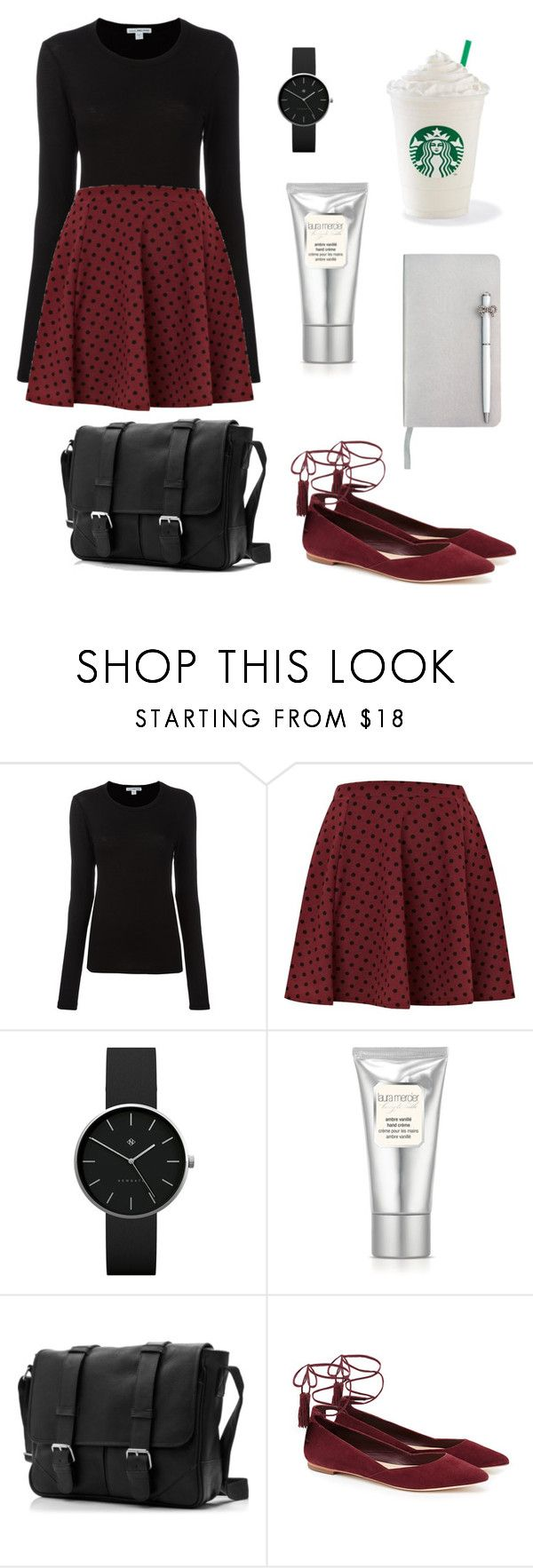 """Humble and Kind"" by amiyafulton037 ❤ liked on Polyvore featuring James Perse, River Island, Newgate, Laura Mercier, Loeffler Randall and ICE London"