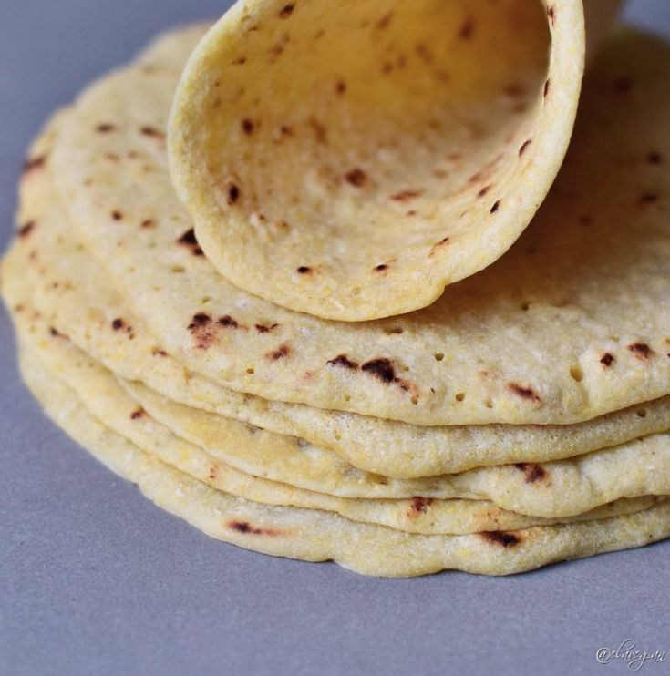 Gluten free tortillas recipe with 2 ingredients which are