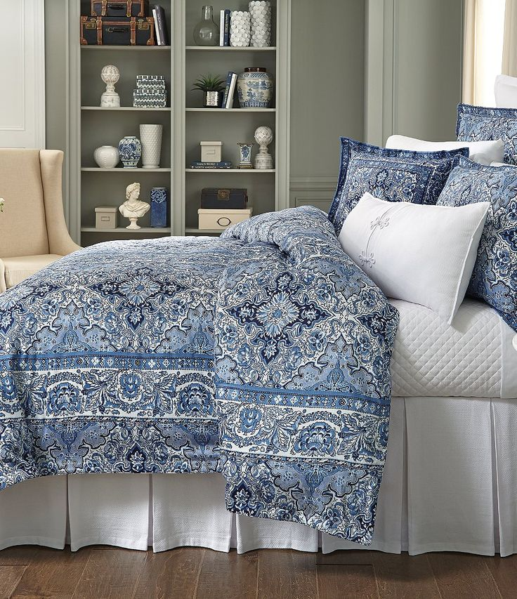 Southern Living Elston Linear Tile Duvet Mini Set