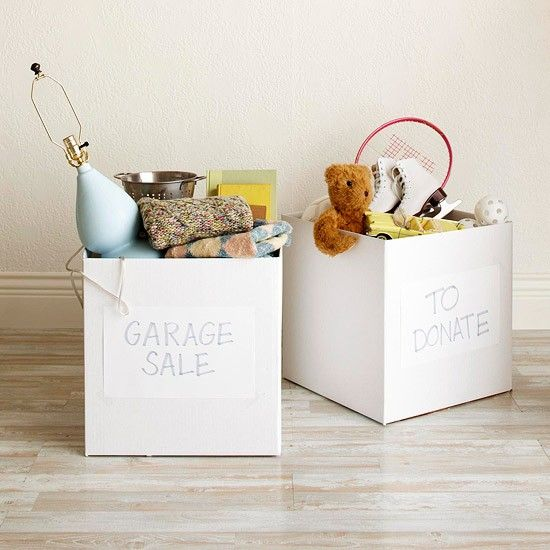 great tips on how to get rid of stuff!