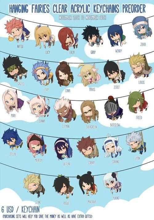 Fairy Tail - I want them all                                                                                                                                                                                 More