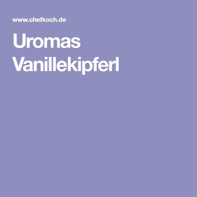 Uromas Vanillekipferl