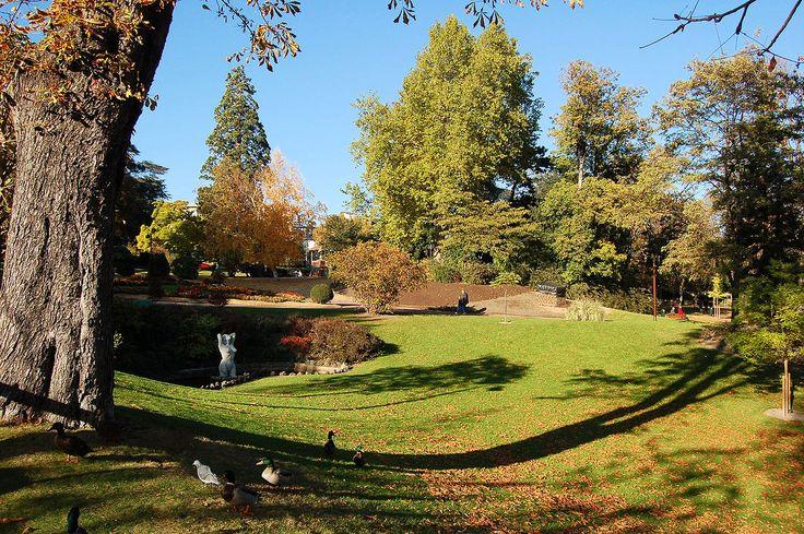 Le jardin Lecoq  -  Clermont-Ferrand  --  Puy de Dome