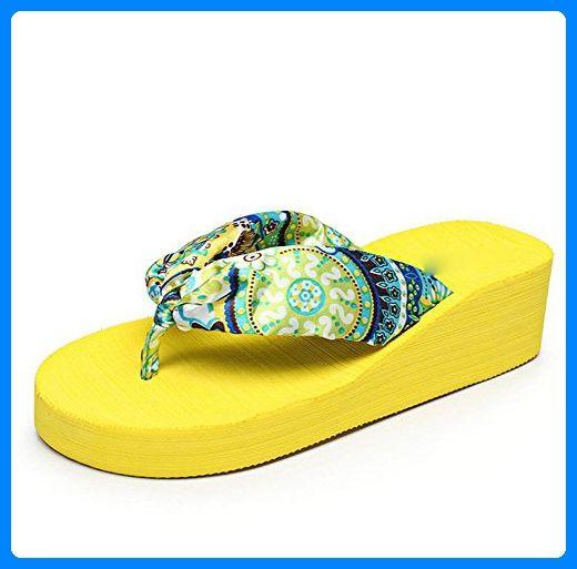 pengweiStrandschuhe Damen-Flip-Flops Satin-Pantoffeln , 1 , US5.5 / EU35 / UK3.5 / CN35 - Hausschuhe für frauen (*Partner-Link)