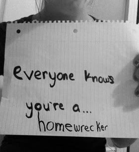 Quotes about Homewrecker