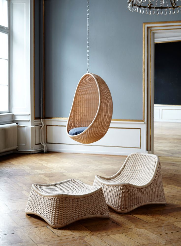 Hanging egg lounge chair in 2020 with images hanging