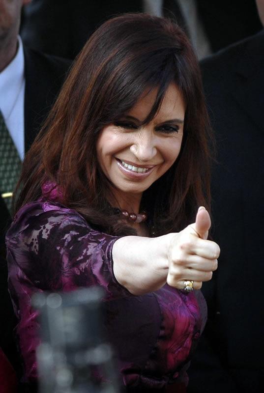 Cristina Fernandez de Kirchner, President of Argentina #RaisingMsPresident