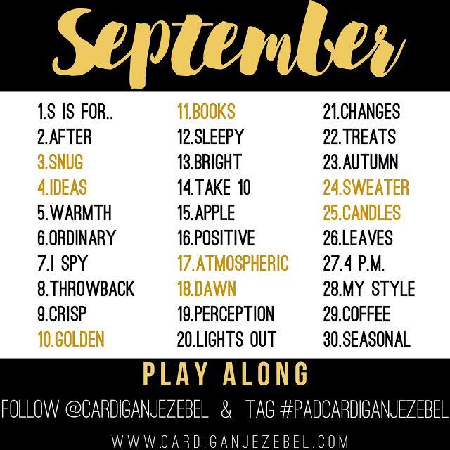 Photo Challenge September 2016 || via www.cardiganjezebel.com || Autumn Photo ideas