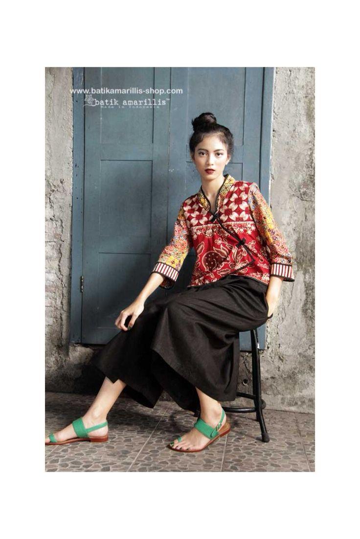 Batik Amarillis made in Indonesia www.batikamarillis-shop.com #batikamarillis #batikindonesia #joyluck