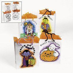 COLORYOUROWN HALLOWEEN BAGS (1 DOZEN) - BULK ** More info could be found at the image url.