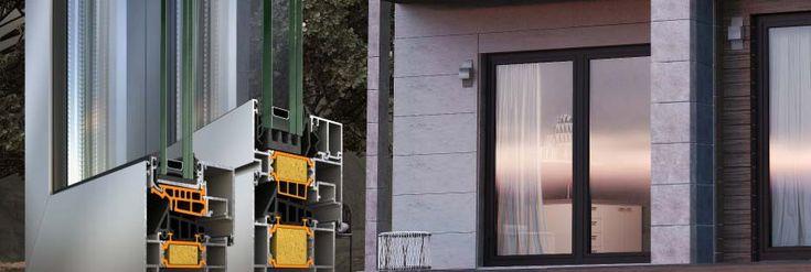 E' la soluzione ideale per ogni tipo di costruzioni che necessitano di norme severe per alte prestazioni e massima sicurezza: Serramenti a battente in alluminio Supreme S77 è l'ultima proposta Alumil per avanzati sistemi di #isolamento termico, acustico incernierato e impermeabilità per soddisfare gli elevati standard di edifici pubblici e privati in Europa occidentale.