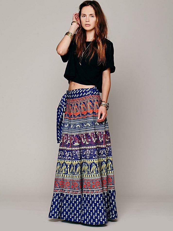 Free People Forever Venice Print Wrap