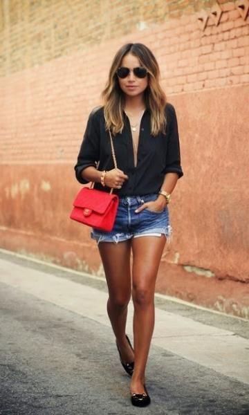 Look: Black & Jeans