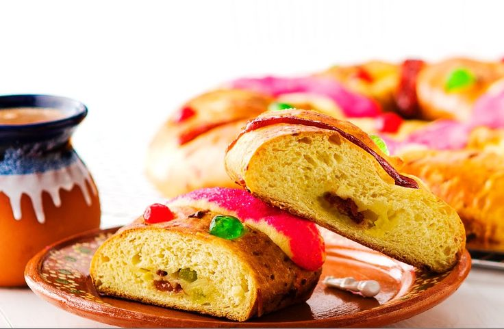 The traditional Rosca de Reyes is a custom that is being kept alive in Mexico and Latin American on January 6th. Celebrate this tradition by simply making this delicious pastry stuffed with cheese and dried fruits! http://www.vvsupremo.com/recipe/three-kings-bread
