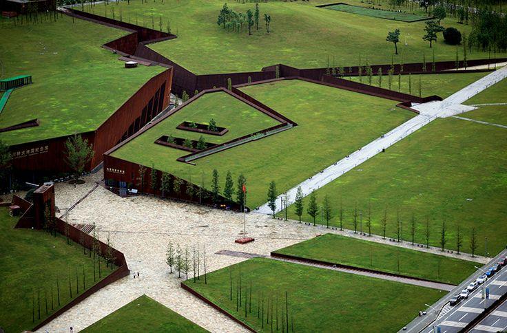 wenchuan earthquake memorial museum - sichuan - cai yongjie + tongji uni