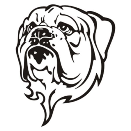 Best Characters Images On Pinterest Car Decals Sticker - Bulldog vinyl decals