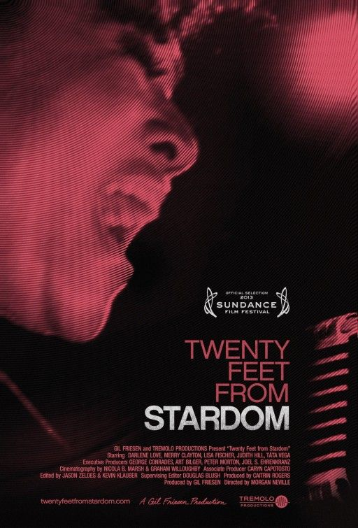 """Twenty Feet from Stardom"" offers a rare glimpse at an unfortunately overlooked part of music history. The film premiered at the 2013 Sundance Film Festival. Check it out when it's released!"