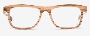 Die Continental ROLF Holzbrille gibt es bei der Augenweide Optik