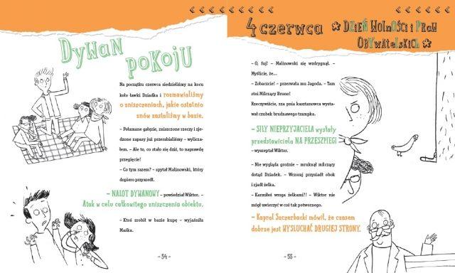 polska ilustracja dla dzieci: Nowość - Nasza paczka i niepodległość