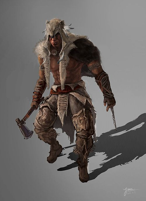 Ratonhnhaké:ton/Gallery - The Assassin's Creed Wiki - Assassin's Creed, Assassin's Creed II, Assassin's Creed: Brotherhood, Assassin's Creed: Revelations, walkthroughs and more!, ToKW Ratonhnhaketon Concept.png