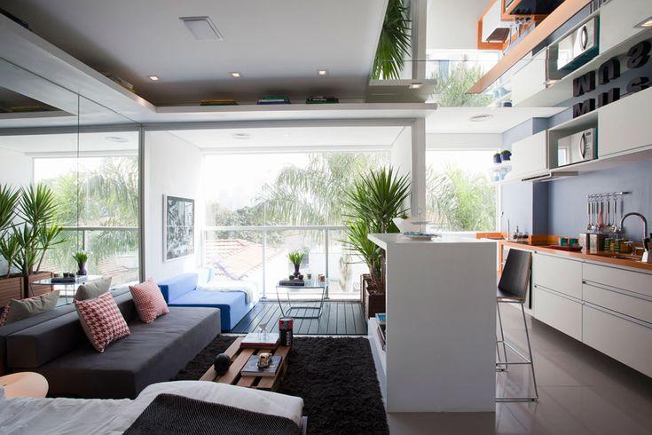 Apartamento pequeno mas com muito charme