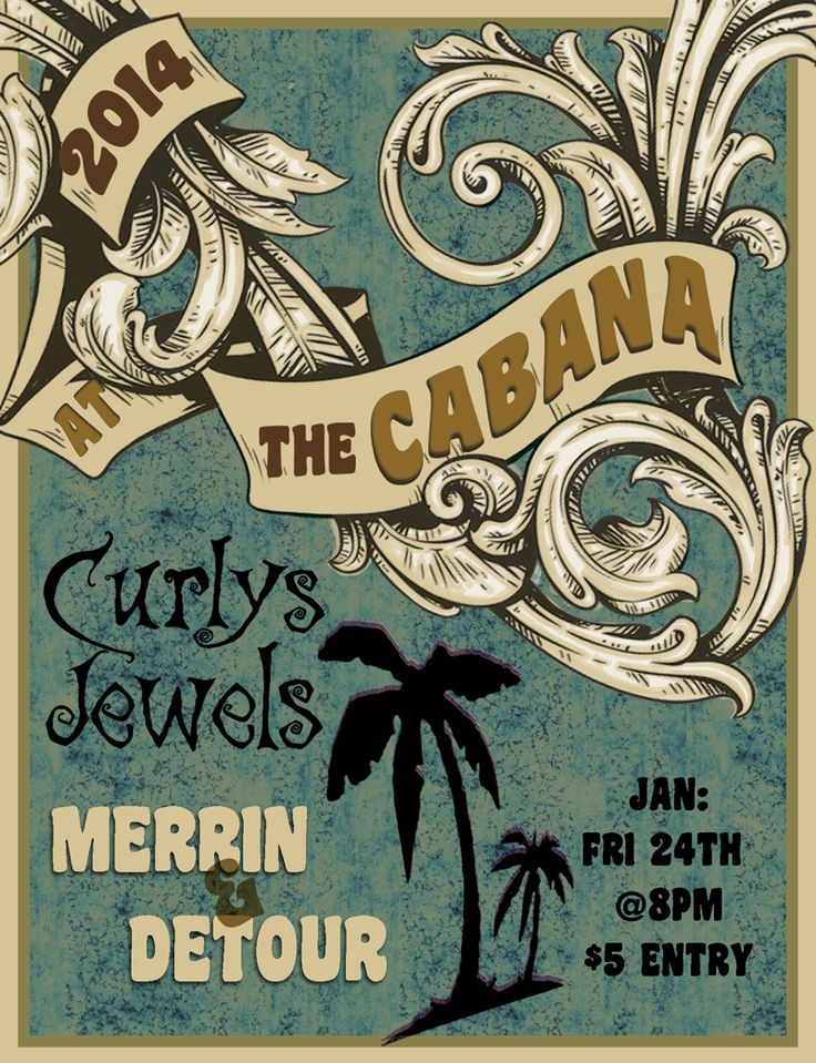 Our gig at The Cabana bar in Napier, again with ze Curlys Jewels :) #Rock #Napier