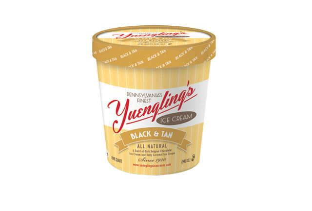 I NEED this in my life!!  Yuengling Black and Tan ice cream-Yuengling ice cream is back in action after 30 years of retirement
