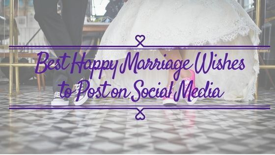There are several good ways to post your happy marriage wishes on online to see other and couple to congratulate on their wedding ceremony and #Socialmediawedding is one of the best way to do it.