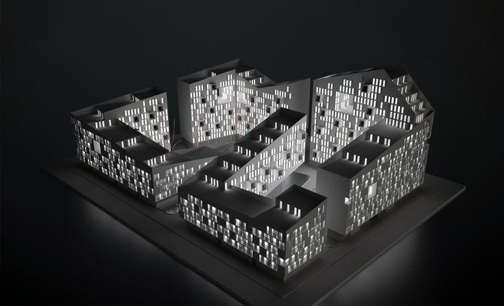 Жилой комплекс Connecting Riads от AQSO Arquitectos. Касабланка, Марокко.